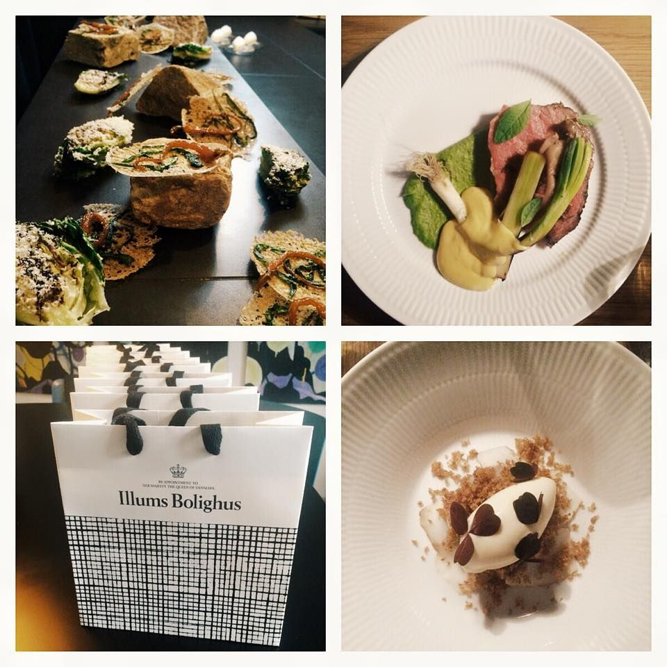Blogger event with some amazing danish bloggers. Restaurant voce in Copenhagen
