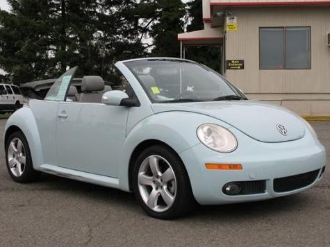 2006 Volkswagen New Beetle Convertible Package 2 8995 For