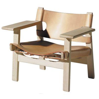 En reise til Spania i 1958 inspirerte Børge Mogensen til Den Spanske Stolen. Stolen er hans mes...