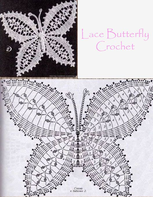 With over 50 free crochet butterfly patterns to make you will never ...