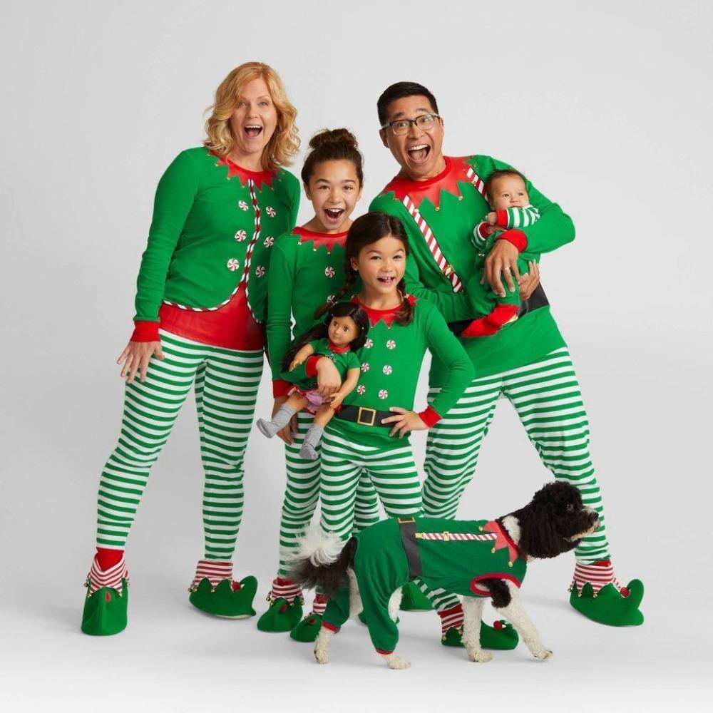 ideas divertidas de la tarjeta de las fotos de la Navidad de la familia