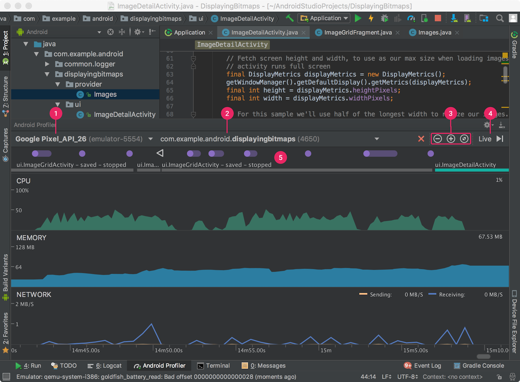 Measure App Performance with Android Profiler Android
