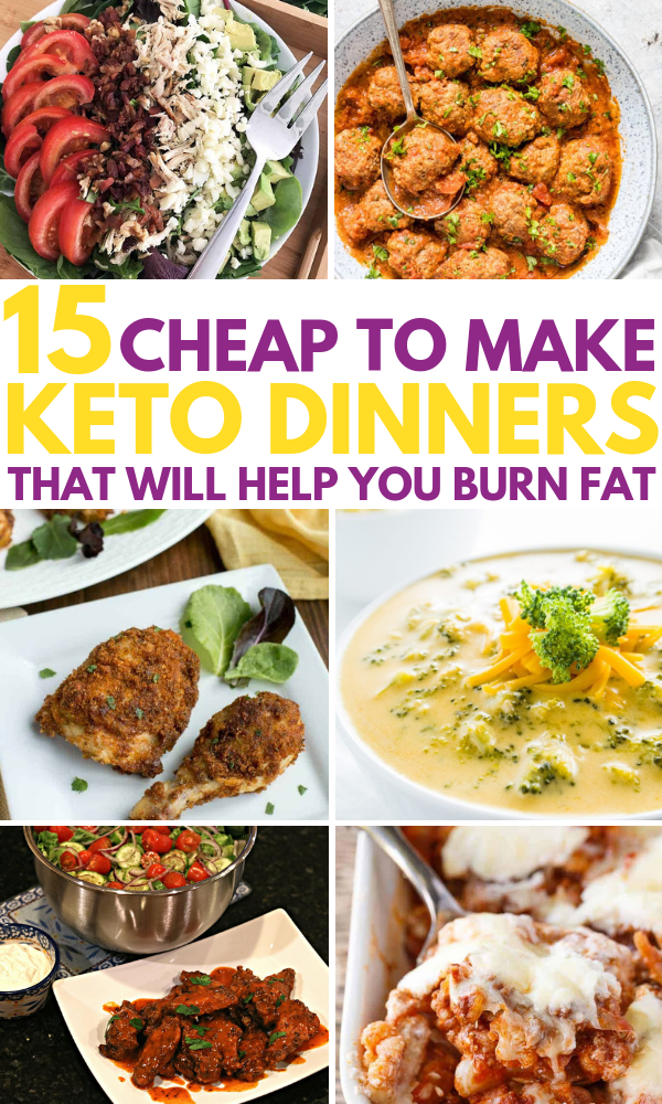 15 Cheap Keto Meals That Re Easy To Make And Taste I N C R E D I B L E Your Family Will Beg You To Make Keto Recipes Dinner Keto Crockpot Recipes Keto Dinner