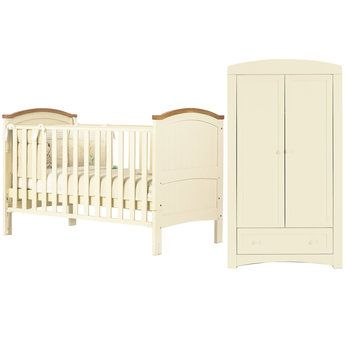 429 Henley Cotbed And Wardrobe In Cream