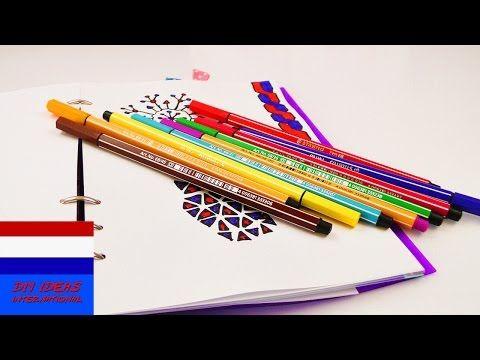 Goede Tekenen met aquarelpotloden en kleurpotloden - YouTube - Tekenen BI-58