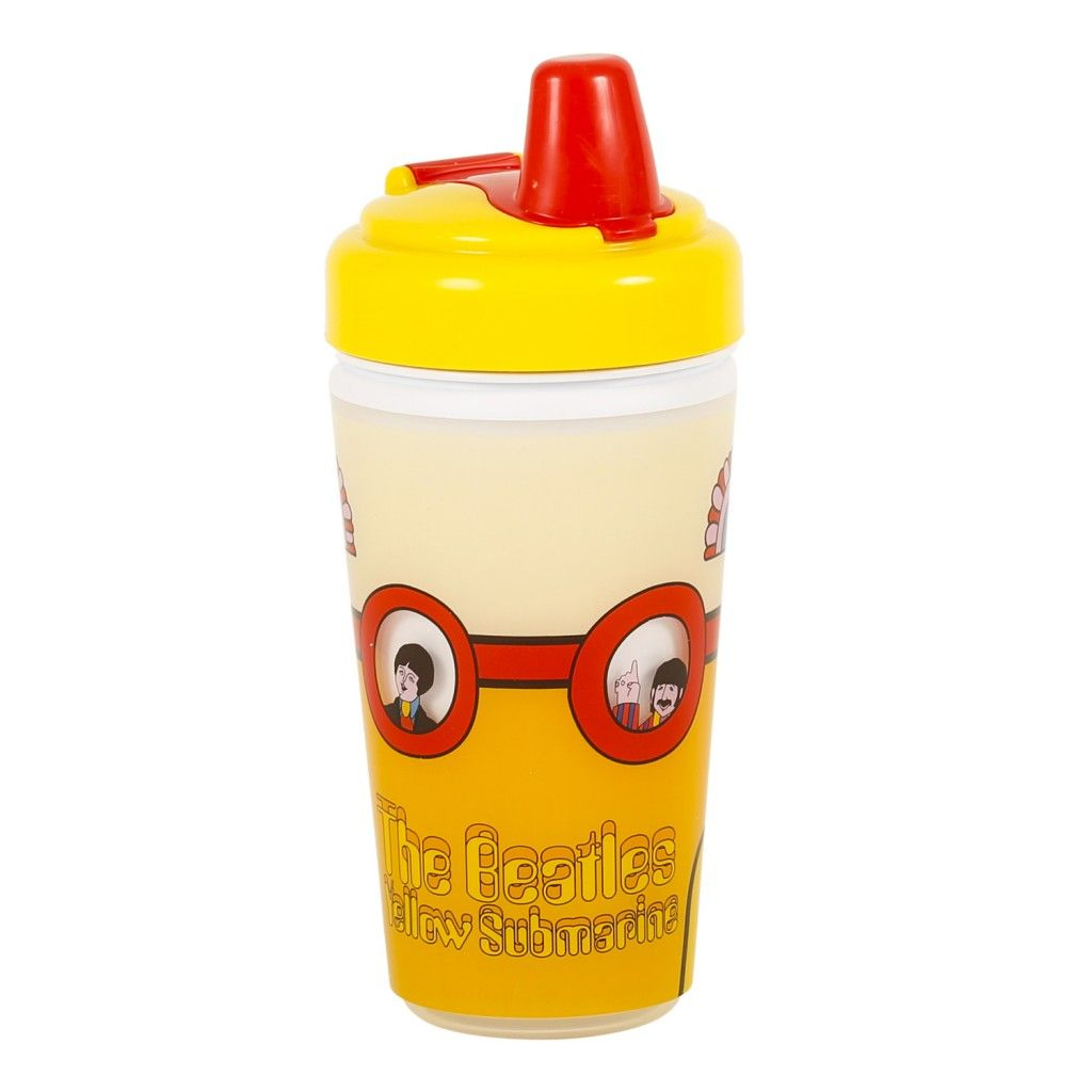 The Beatles Yellow Submarine Sippy Cup Yellow Submarine The Beatles Baby Dishes