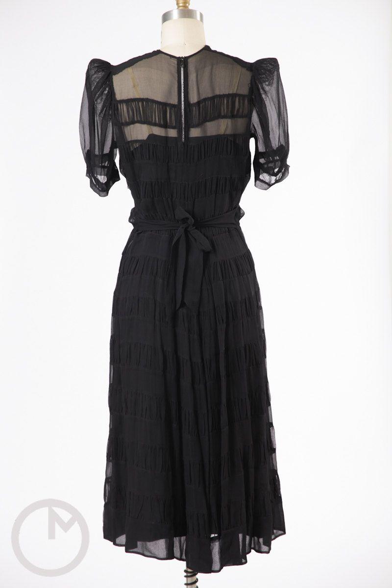 Reserved s dress s silk chiffon dress sheer s