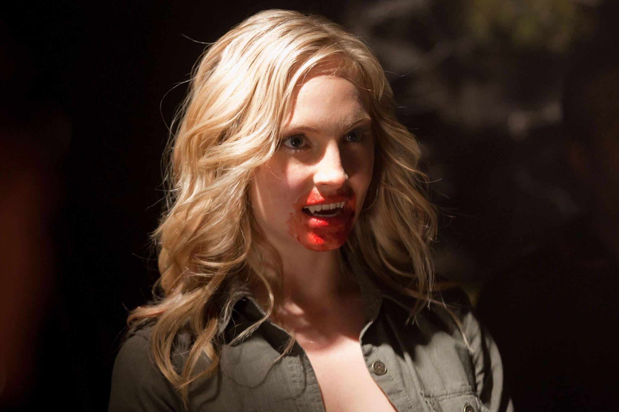 Image result for vampire diaries caroline turns into a vampire vampire