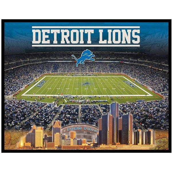 Detroit Lions Stadium Canvas Wall Art Detroit Lions Wall Canvas Detroit