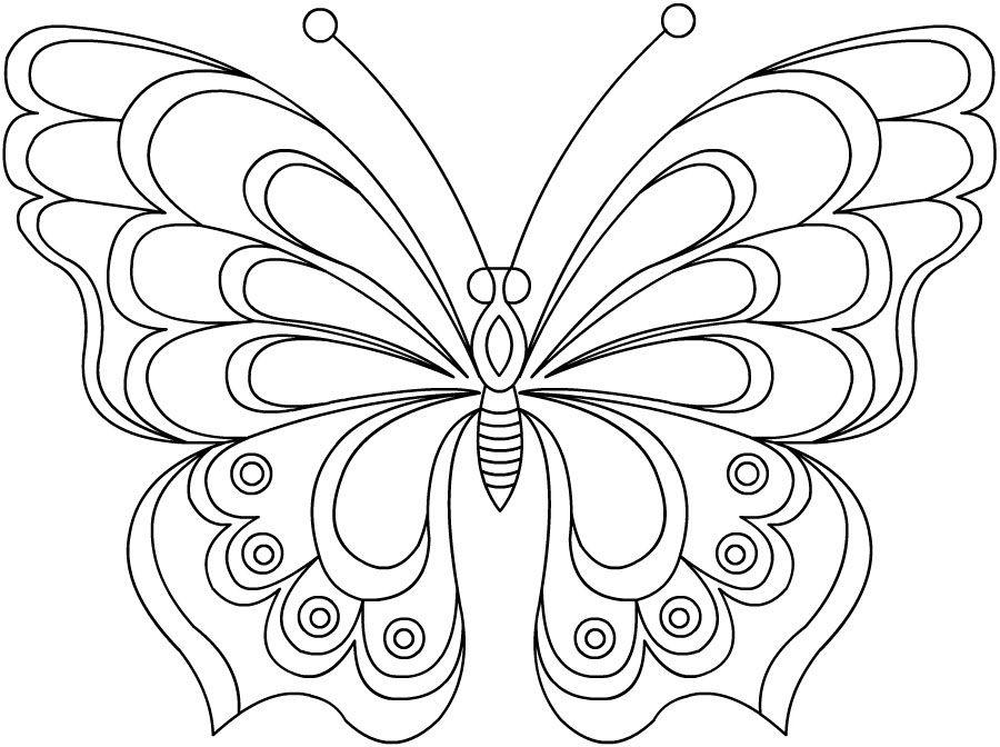 Ажурная бабочка - razukrashki.com | Como hacer un rosario | Bordado ...