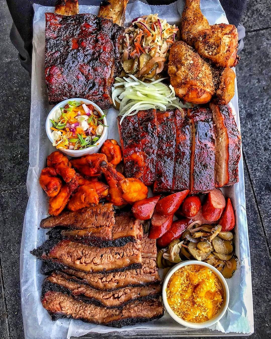 You Smashing That Red Meat Or White Meat First Restauran Smoked Food Recipes Food Dishes Bbq Platter