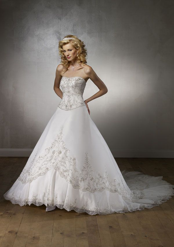 Whew..... :)Princess Style Wedding Dresses silver | | Our New ...