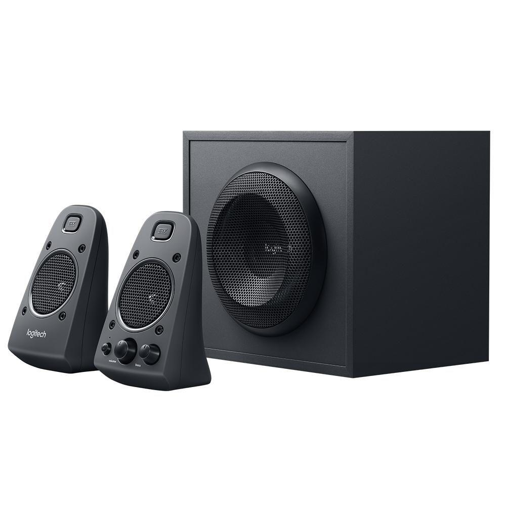 Logitech 980 000012 s120 2 piece black desktop computer speaker set - Amazon Com Logitech Z625 Powerful Thx Sound 2 1 Speaker System For Tvs Game
