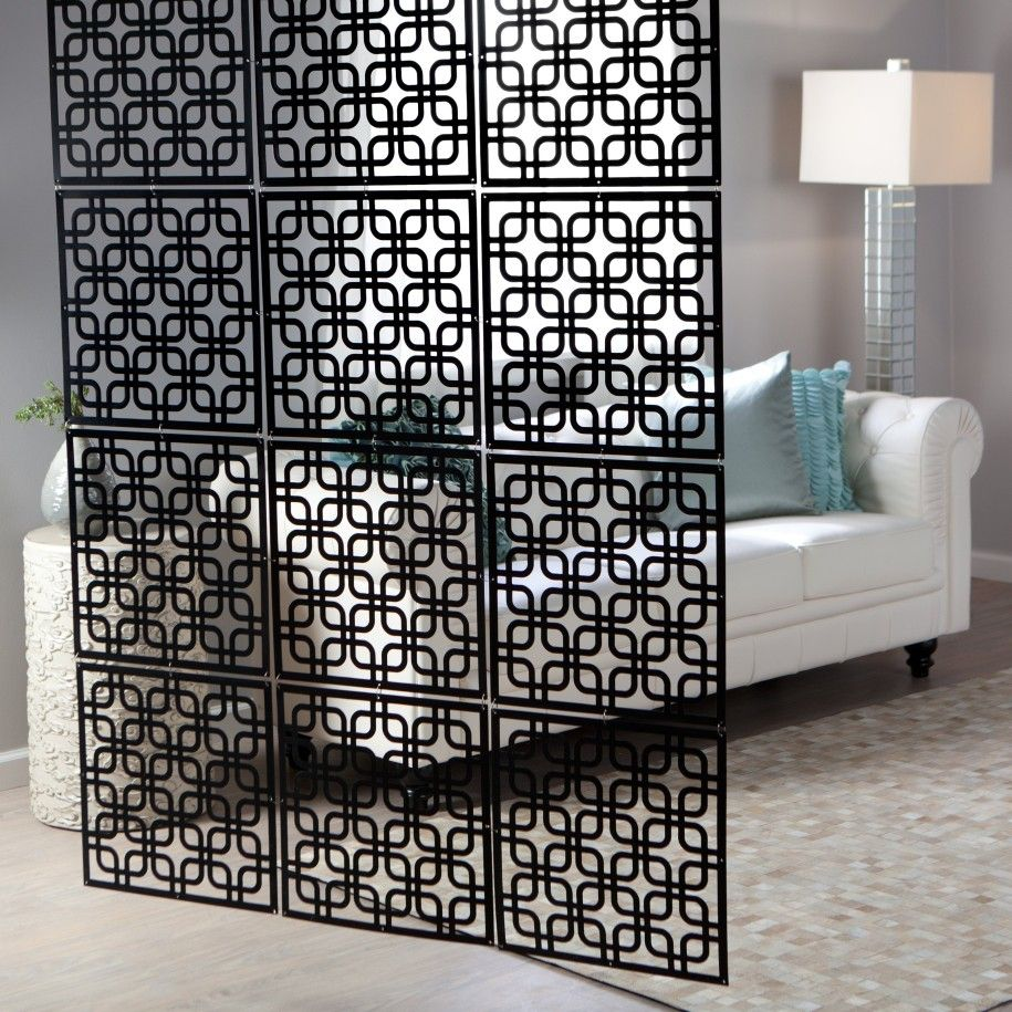 metal room dividers partitions Metal Elements Cool Decorative Wall