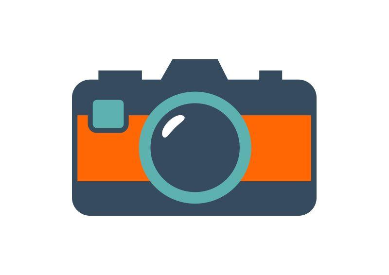 Flat Camera Icon Camera icon, Icon, Flat icon