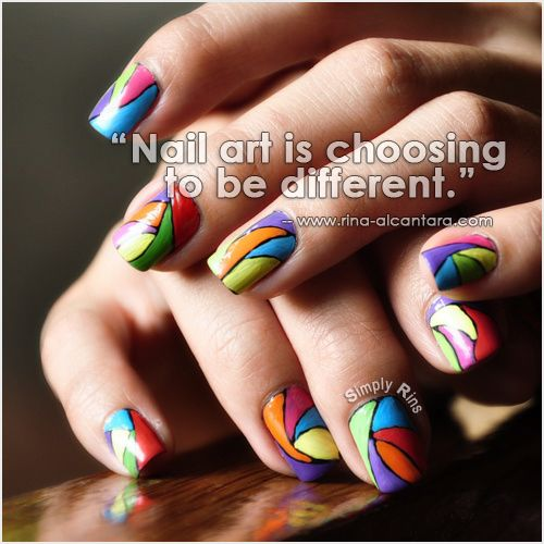 Beautiful nail art quotes