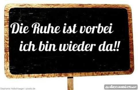 Die Ruhe Ist Vorbei German Sayings Funny Quotes Und Humor