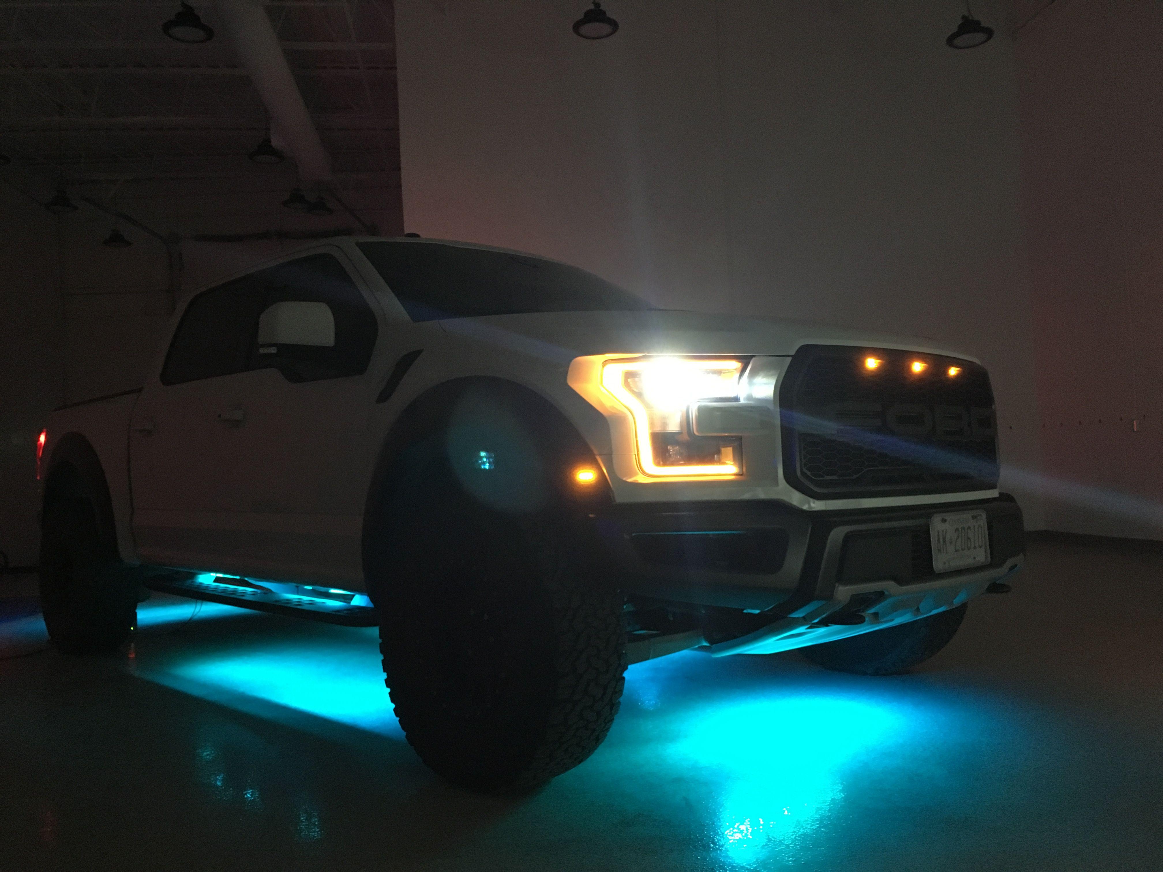 F150 Raptor Rgb Underglow Kit Alpena Led Color Vehicles