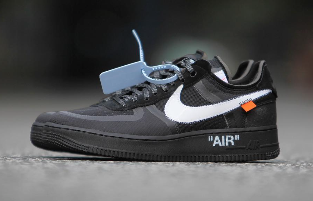 8341e05a88f3 Off-White Nike Air Force 1 Black AO4606-001 Release Date