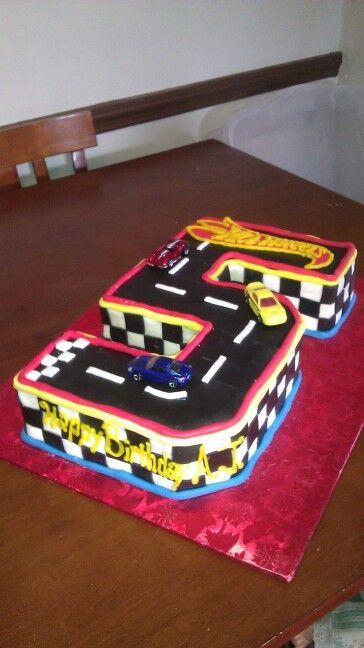 Hot Wheels Birthday Cake Ideas Boy S Hot Wheels Birthday Cake