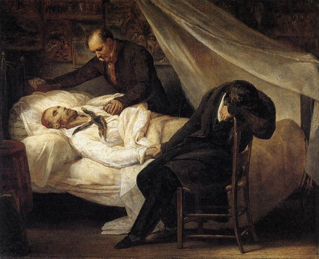 Jeune Patriote Débauché — allthingsromanticism:   Romantic Themes: Death  ...