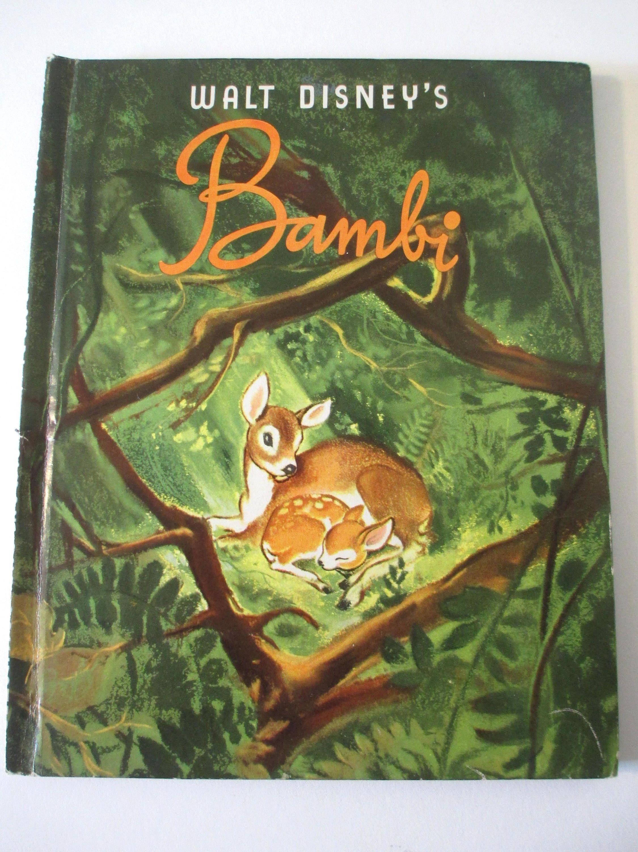 Bambi Rare Edition Walt Disney S Bambi 1941 Very Good Condition