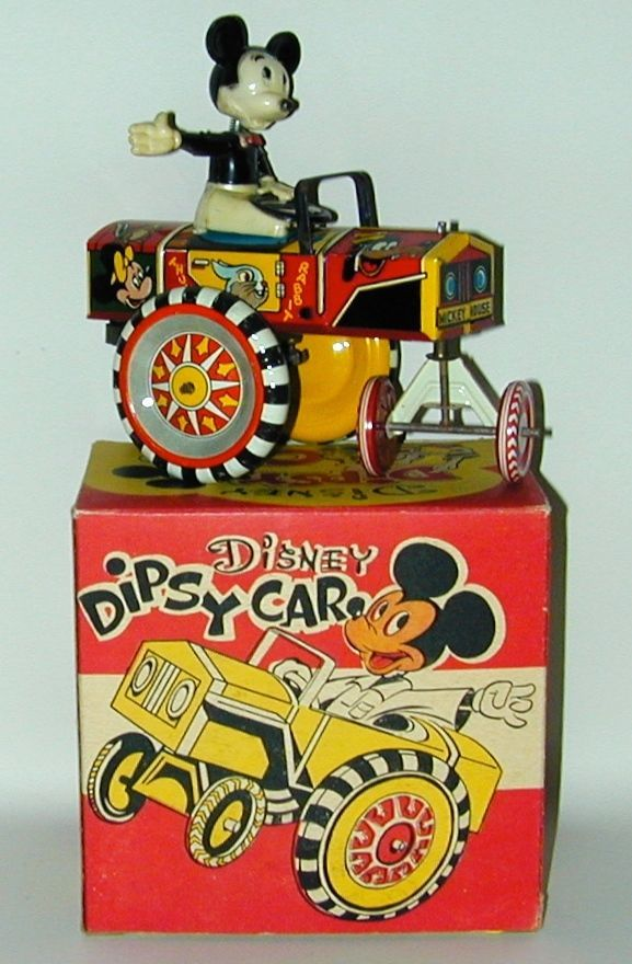 Louis Marx Disney/Mickey Mouse Dipsy Car (1950)