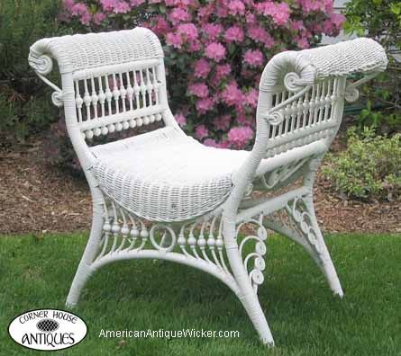 Tom And Kathleen Tetro Specialize In American Antique Wicker Furniture.