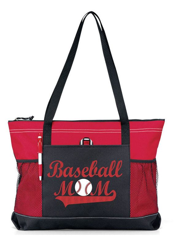 Hey, I found this really awesome Etsy listing at https://www.etsy.com/listing/224088816/large-20-baseball-mom-sports-bag-with