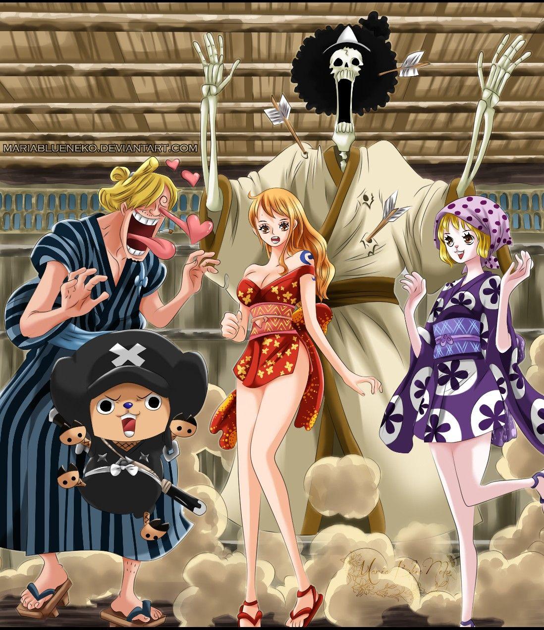 Carrot Straw Hats Muiwaras Wano One Piece One Piece Nami