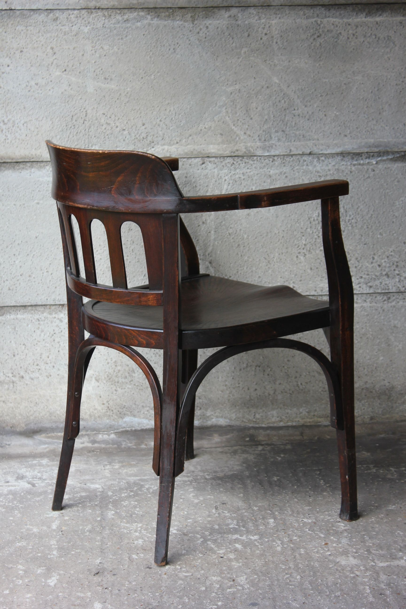 Rare original beech stained chair by eugene gaillard circa 1900 at - Armchair Otto Wagner J J Kohn 1902 05 A Slight Varient On The Chairs That Otto Wagner Designed For The Postal Office Savings Bank Building In Vienna