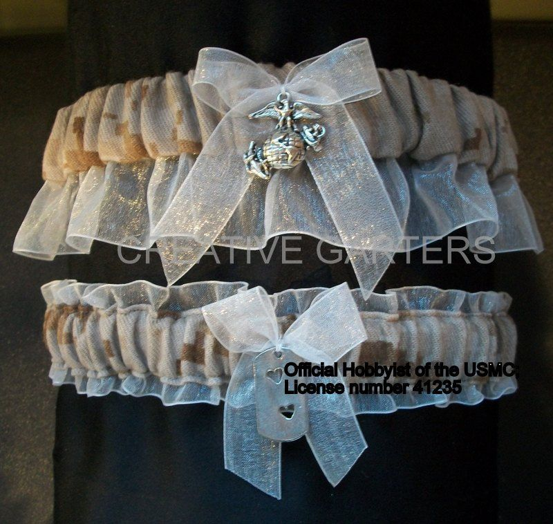 Military Us Marine Digital Desert Camo Garter I Have Some Of Both Types That He Actually Wore Save On Fabric Cost Make It Personal We Love