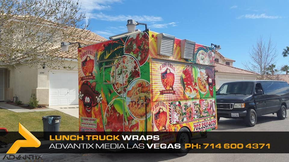 Lunch truck wraps food truck wrap las vegas lunch