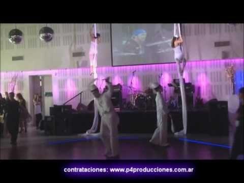 ZANCOS, MALABARES y TELAS para Eventos contrataciones: www.p4produccione...