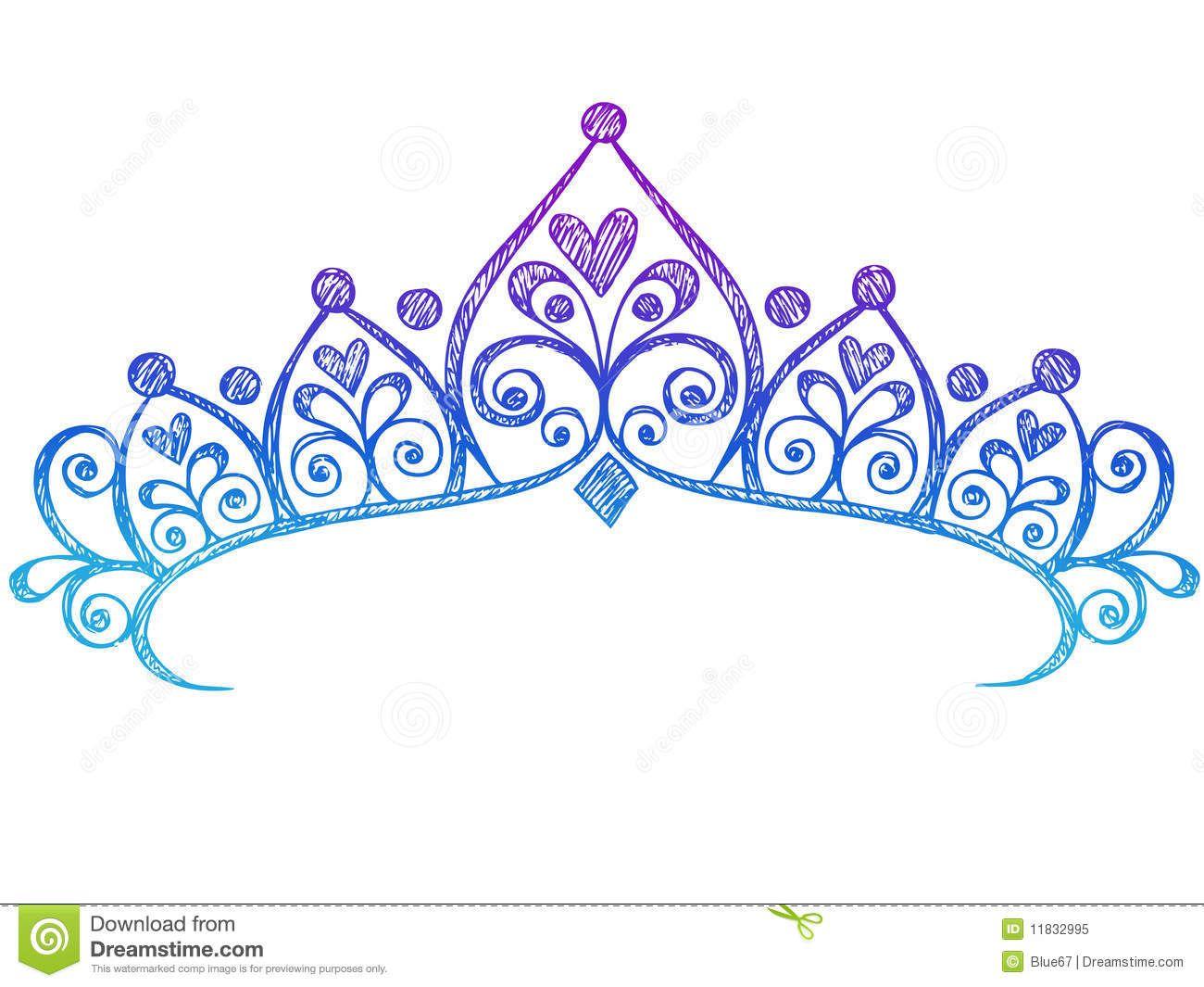 Coroa De Princesa Desenho: Dreamstime Notebook Sketch