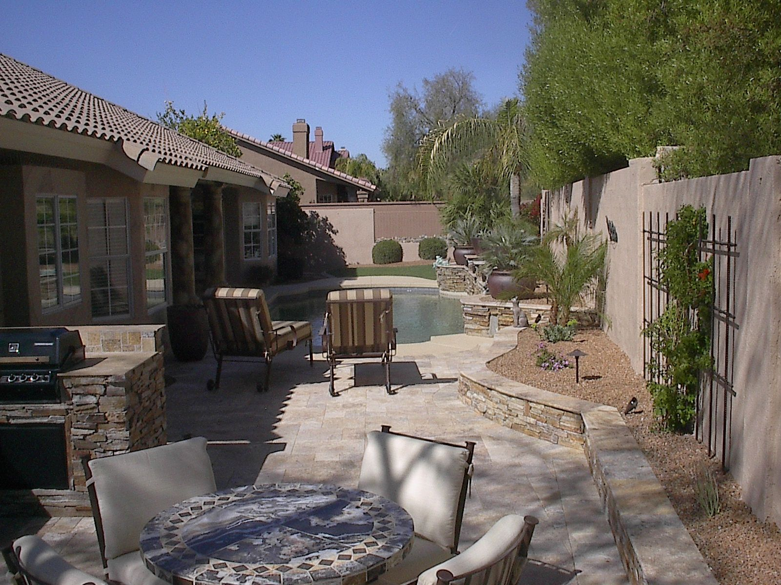 hardscape idea backyard designs great backyard designs