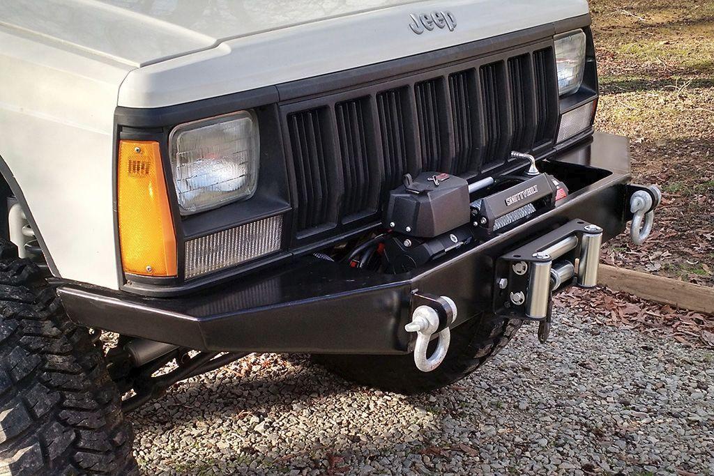 Diy Xj Winch Bumper Jeep Cherokee 84 01 Jeep Xj Jeep