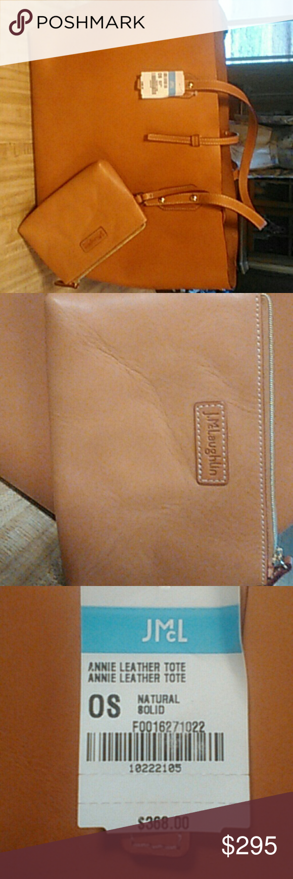 b96b947c44 A.McLaughlin Annie tote Brand new. Smells like expensive leather. Never  used. 18
