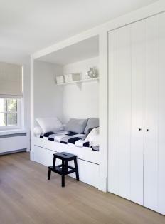 Inbouwbed En Kast Boys Room Slaaphoek Moderne