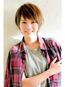 【Tornado-小林未和】前髪アシンメトリーショートバングショート