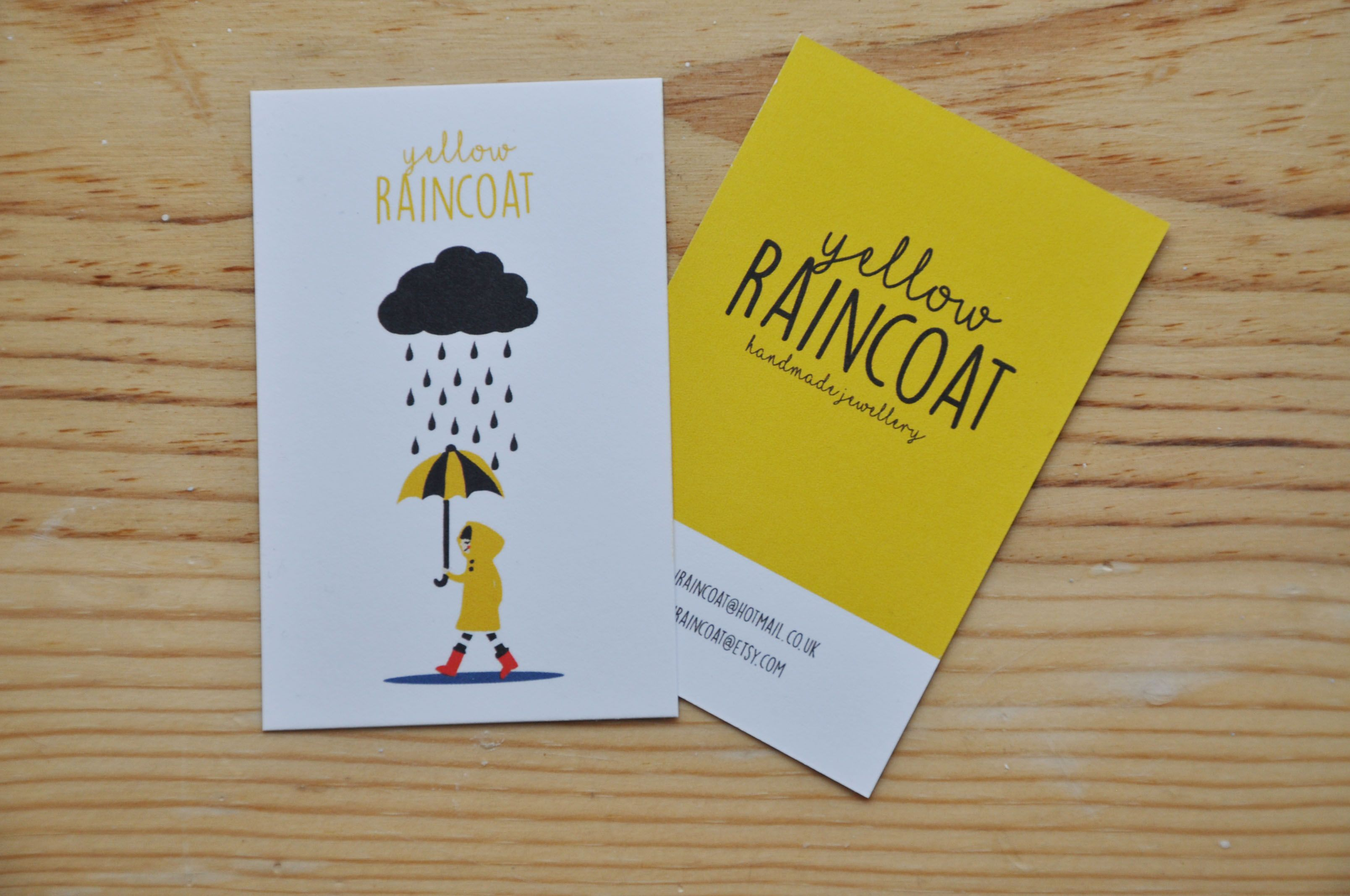 Business cards for a small handmade jewellery business that is ...