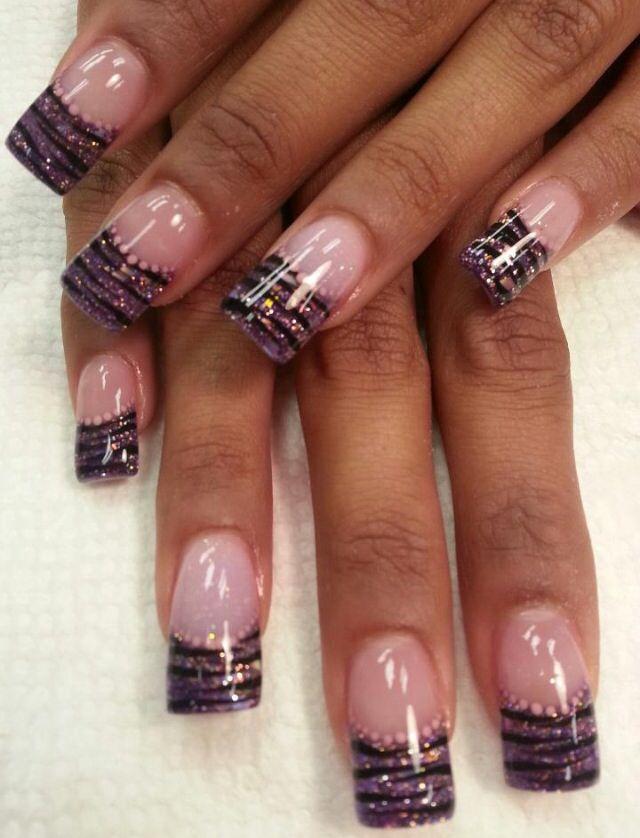 acrylic nails giselle yum