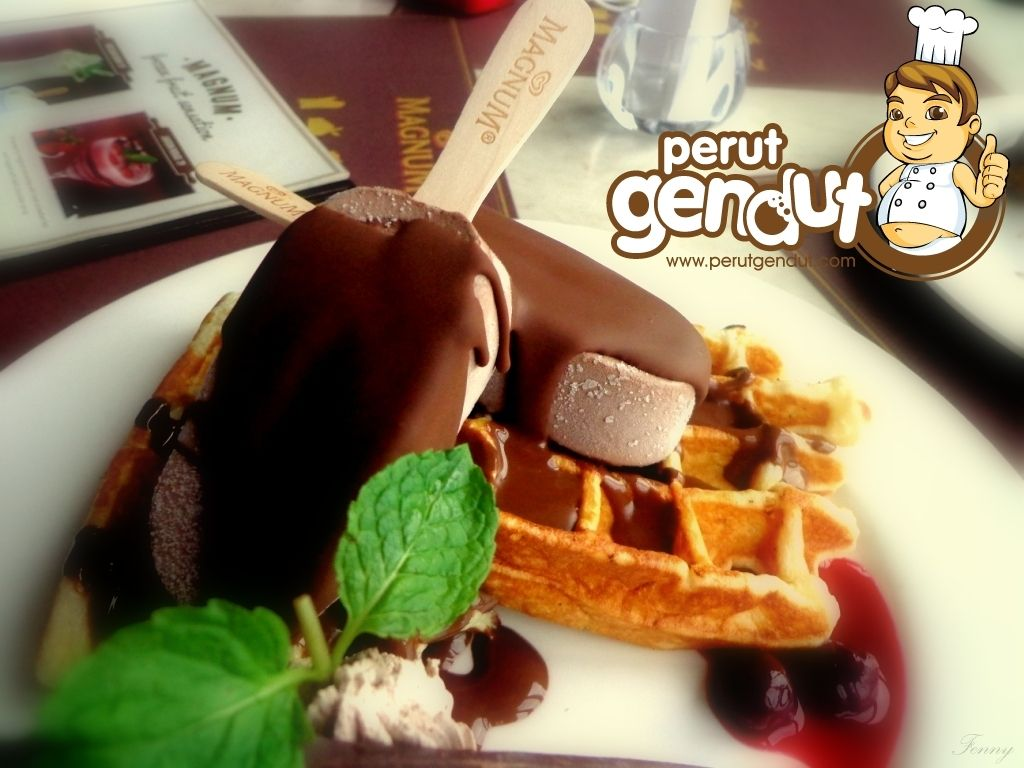 Dingin dan sedapnya es krim di Magnum Cafe http://www.perutgendut.com/reviews/read/magnum-cafe/366 #Review #Indonesia #MagnumCafe