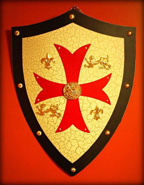 Knights Templar Royal Crusader Shield Malta Knight And Malta Island