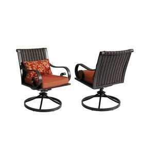 Allen Roth Set Of 2 Pardini Oil Rubbed Bronze Seat