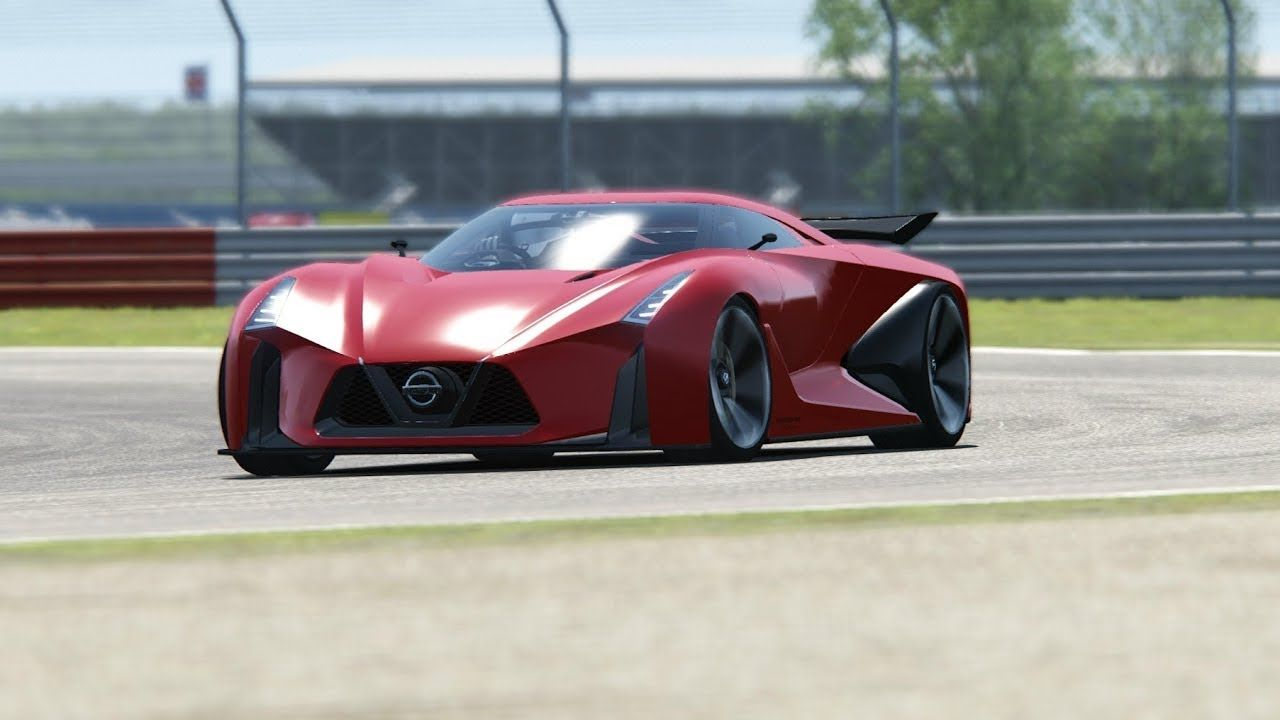 Nissan Concept 2020 Vision Gran Turismo Top Gear Testing At Silvestone Nissan Toyota Corolla Chevy Cruze