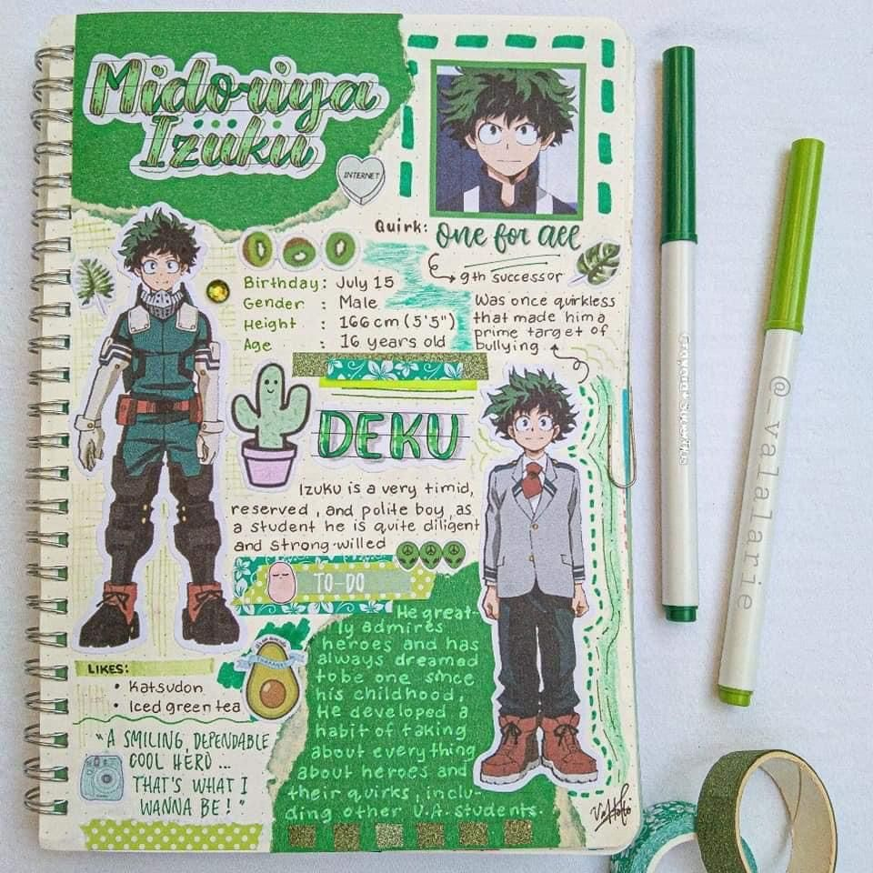 Pin By Khloe On My Hero Academia Anime Book Bullet Journal Themes Journal Themes