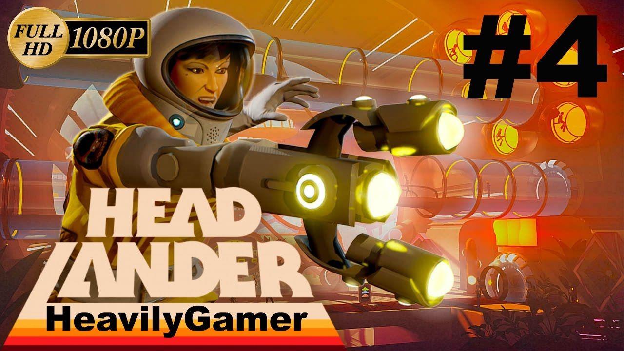 Headlander Gameplay Walkthrough (PC) Part 4:An Happy New 2017 Year!/Love...
