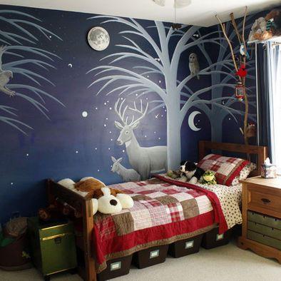 Bedroom - Moonlight Night by tarnishoar on DeviantArt  Kids Bedroom At Night