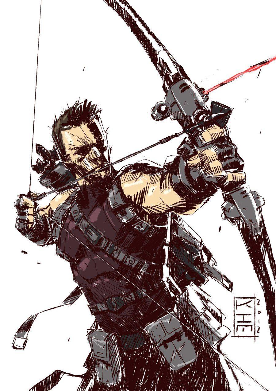 Hawkeye by Aaron Kim Jacinto #Avengers